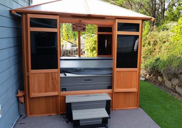 Spa Enclosures And Hot Tub Gazebos Sv Alliance Woodcraft