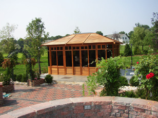 Hot tub enclosure - Manhattan gazebo